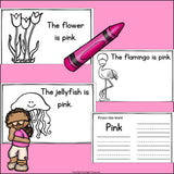 Colors of the Week: Pink Mini Book