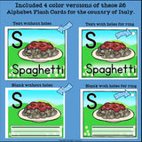 Italy Flash Cards