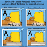 Arizona Flash Cards