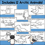 The Antarctic Mini Book for Early Readers: Antarctic Animals