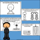 Nikola Tesla Mini Book for Early Readers: Inventors