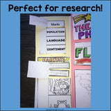 Philippines Lapbook for Early Learners - A Country Study