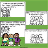 Sibling Day Mini Book for Early Readers