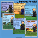 US Presidents Fact Sheets for Early Readers