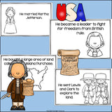 Thomas Jefferson Mini Book for Early Readers: Presidents' Day