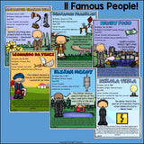Inventors Fact Sheets for Early Readers