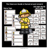 Classroom Decor Pack - Careers and Community Helpers Theme