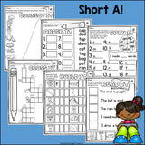 Short A Worksheets and Activities for Early Readers