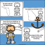 Hernando de Soto Mini Book for Early Readers: Early Explorers