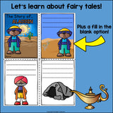 Aladdin Mini Book for Early Readers - Fairy Tales