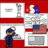 Veterans Day Mini Book for Early Readers