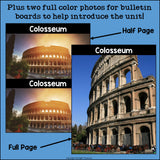 Colosseum Complete Unit for Early Learners - World Landmarks