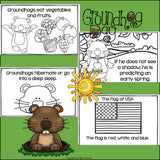 Groundhog Day Mini Book for Early Readers
