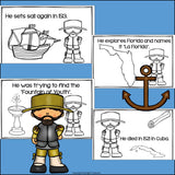 Juan Ponce de Leon Mini Book for Early Readers: Early Explorers