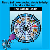 Zodiac Signs Mini Book for Early Readers
