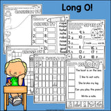 Long O Worksheets and Activities for Early Readers