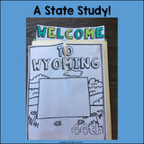 Wyoming Lapbook for Early Learners - A State Study