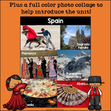 Spain Mini Book for Early Readers - A Country Study