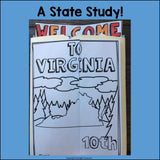Virginia Lapbook for Early Learners - A State Study