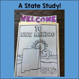 New Mexico Lapbook for Early Learners - A State Study