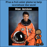 Mae Jemison Mini Book for Early Readers: Black History Month