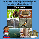 Venezuela Mini Book for Early Readers - A Country Study