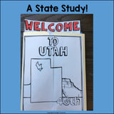 Utah Lapbook for Early Learners - A State Study