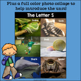 Alphabet Letter of the Week: The Letter S Mini Book