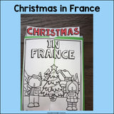 Christmas in France Lapbook for Early Learners