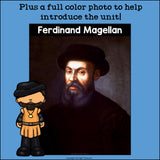 Ferdinand Magellan Mini Book for Early Readers