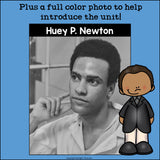 Huey P. Newton Mini Book for Early Readers: Black History Month