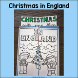 Christmas in England Lapbook for Early Learners