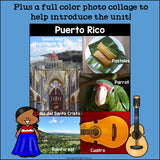 Puerto Rico Mini Book for Early Readers - A Country Study