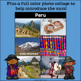 Peru Mini Book for Early Readers - A Country Study