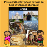 India Mini Book for Early Readers - A Country Study