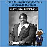 Mary McLeod Bethune Mini Book for Early Readers: Black History Month