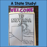 Nevada Lapbook for Early Learners - A State Study