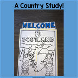 Scotland Lapbook for Early Learners - A Country Study