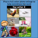 Alphabet Letter of the Week: The Letter R Mini Book
