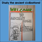 Ancient Rome Lapbook for Early Learners