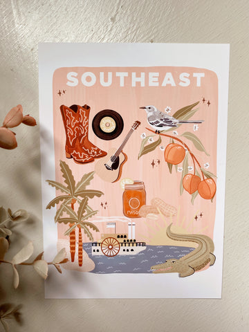 Southeast Things Art Print