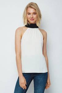 Dora Landa Tie Back Halter Neck Chantal Top