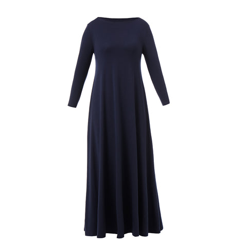 Dora Landa Long Maxi Knit Cora Dress