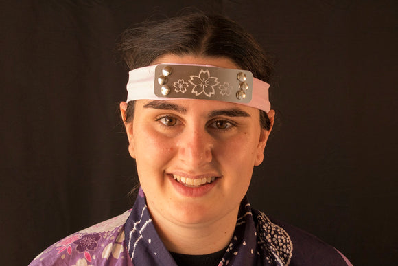 Custom Made - Engraved Ninja Headband