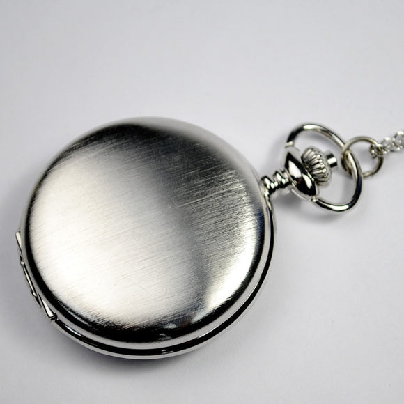 Custom Engraved Pocket Watch