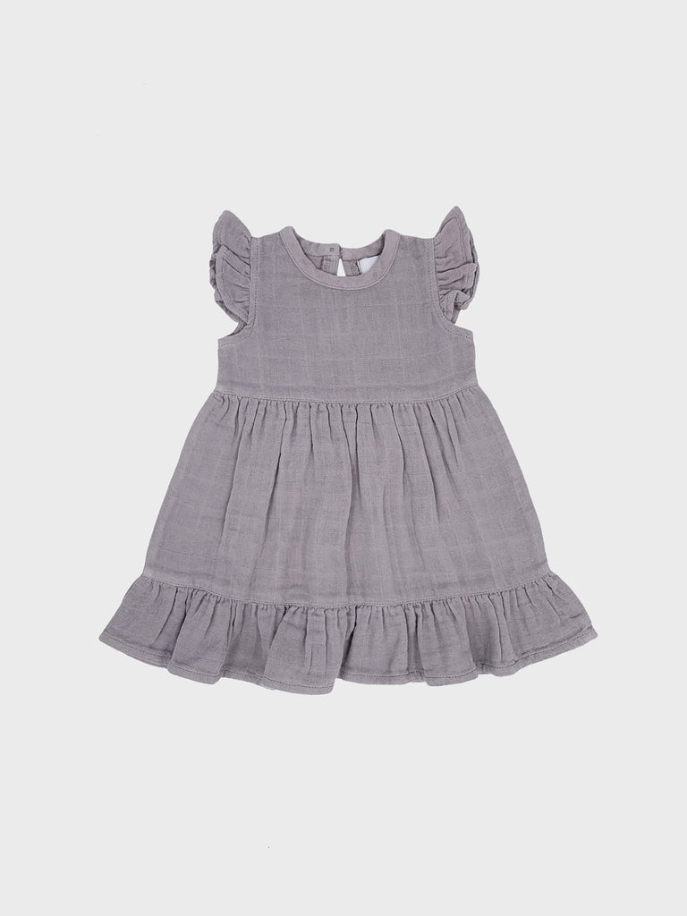 Audrey Dress Warm Grey (4600816533643)