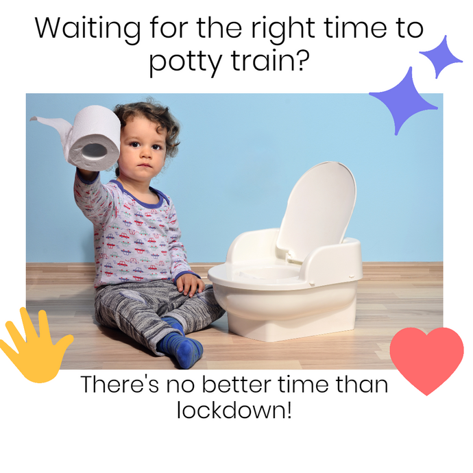 Is lockdown the best time for potty training?