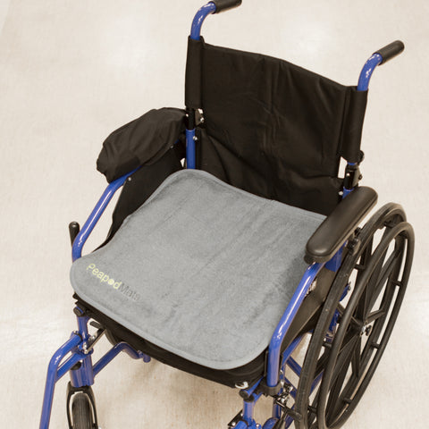 PeapodMat on the wheelchair