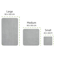Load image into Gallery viewer, PeapodMats UK EU Sizing Washable Mattress Protector Pad JOIZI