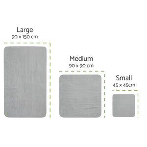 PeapodMats UK EU Sizing Washable Mattress Protector Pad JOIZI